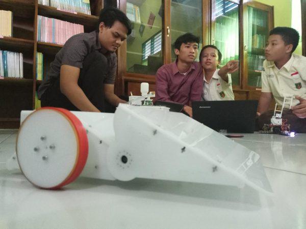 Trial Robot Sumo