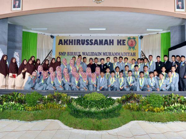 Akhirussanah ke 3 SMP Birrul Walidain Muhammadiyah Sragen