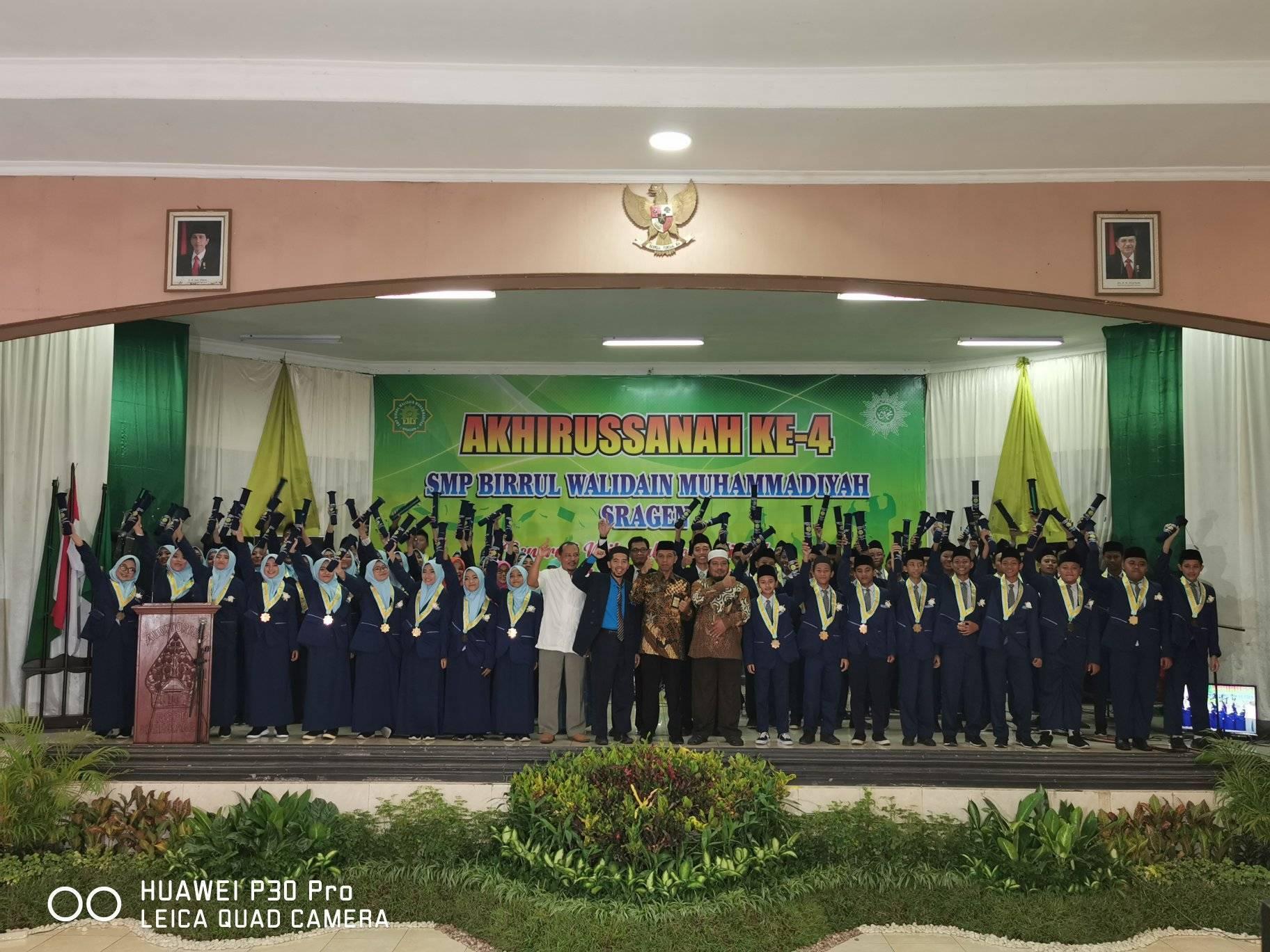 Akhirussanah Ke-4 SMP Birrul Walidain Muhammadiyah Sragen