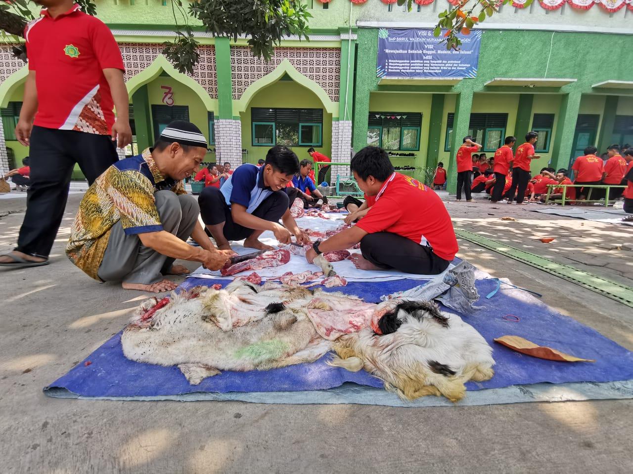 Penyembelihan hewan Qurban