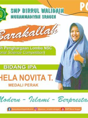 Juara Nasional Science Competition (NSC) MAPEL IPA
