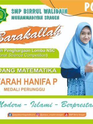 Juara Nasional Science Competition (NSC) MAPEL MATEMATIKA
