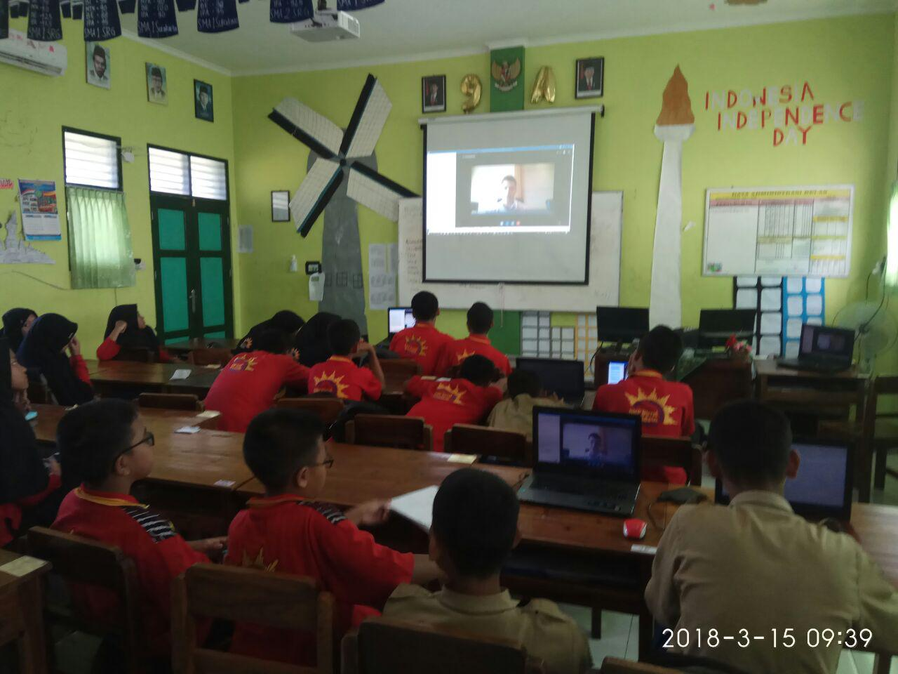Skype a Thon Indonesia 2018 Live from Singapore
