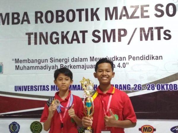 Juara 3 Robotik Nasional di Olympicad