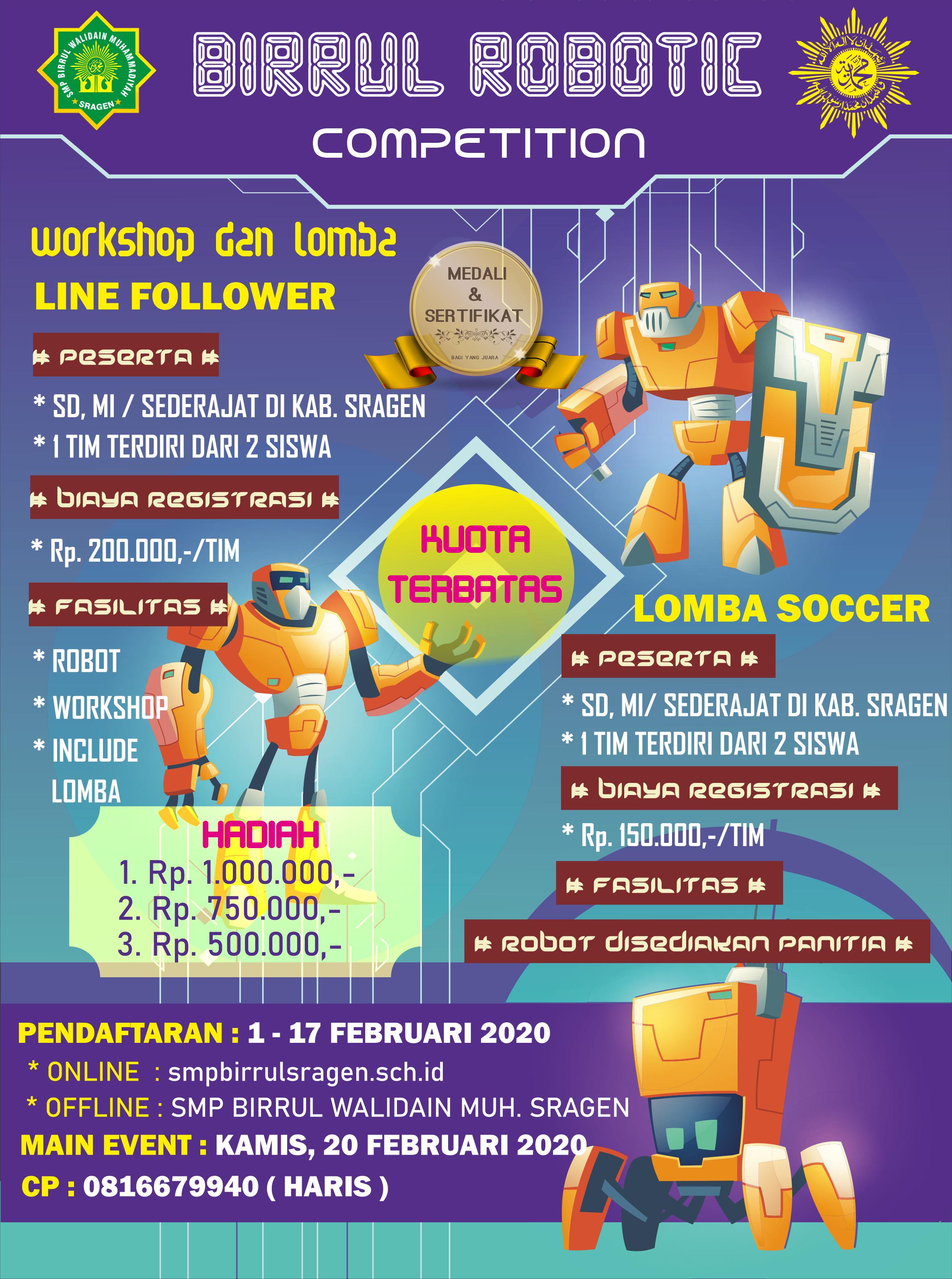 Birrul Robotic Competition 2020